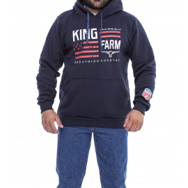 MOLETOM AZUL KF 161B KING FARM