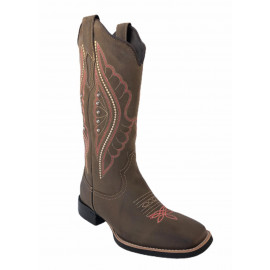 BOTA FEMININA 53010 DALLAS BROWN BULLS HORSE