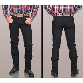 CALÇA JEANS MASCULINA PRETO 605 BILL WAY