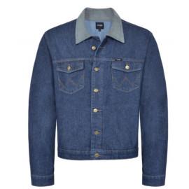 jaqueta jeans wrangler wm9703